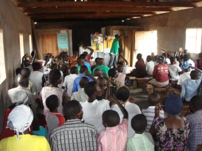 Mental health discussion in Kenya