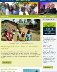 Study: Child Survival in Kenya | New Zika Candidate Vaccine | Featured Event Series