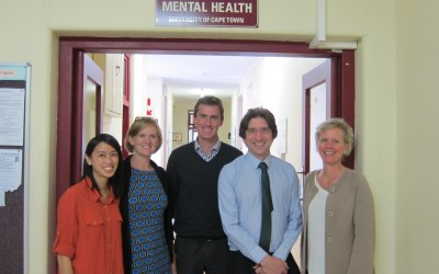 Cape Town visit - mental health team
