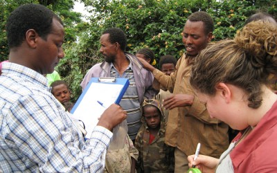 Duke trainees and researchers from Ethiopia are working with DGHI faculty member Marc Jeuland to investigate the interactions between climate change, water and health.