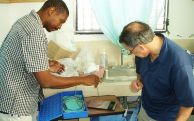 DGHI adjunct professor David Walmer leads the NGO Family Health Ministries, which seeks to improve the health of Haitian families.