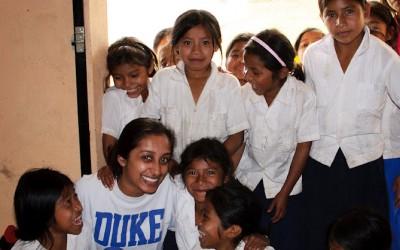 Duke student Trusha Patel spent a week working at a clinic in Honduras.