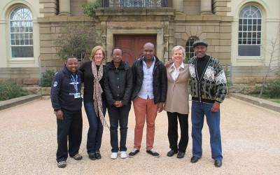 Cape town visit - with partners