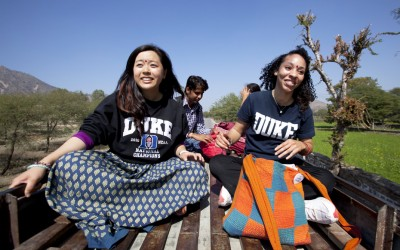 Duke undergraduate students were able to receive an in-depth exploration of health and development issues in India and China through Global Semester Abroad.