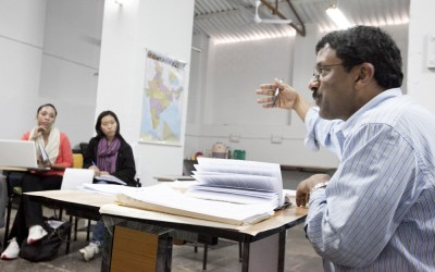 Professor Anirudh Krishna of the Sanford School for Public Policy was a leading faculty member for the Global Semester Abroad Program in India and China.