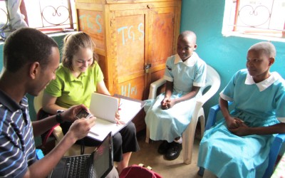 Global health student Nina Woolley studied HIV/AIDS prevention and community development during her fieldwork in Kenya.