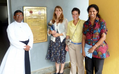 DGHI faculty and staff, including Assistant Director for International Operations Sarah Trent, are working with partners at the University of Ruhuna to expand collaborations in education and research.