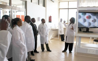 KCMC has outfitted laboratory space to enhance the research and educational experience for medical trainees in Tanzania.