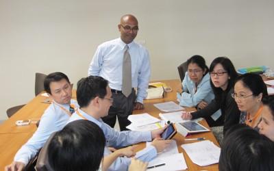 DGHI faculty, including Manoj Mohanan, teach in a global health diploma program at Mahidol University in Thailand.