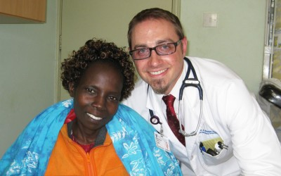 Internal medicine Chief Resident Jason Webb completed a global health rotation in Kenya, what he says was the most formative experience of his Duke training.