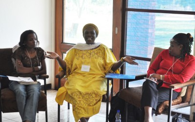Ugandan leaders gather for dialogue on promoting health and peace in Africa.