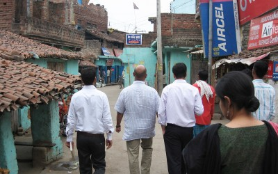 Data collection feasibility visit to a village