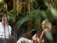 Bill Pan and Ben Zaitchick at Meeting in Peru