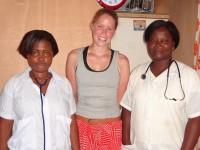 Kelly in Togo