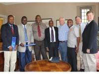 MEPI Collaborators and President Brodhead