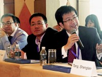 Shenglan Tang at a Beijing health conference
