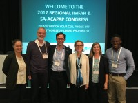 Duke and S. Africa Collaborators at Conference