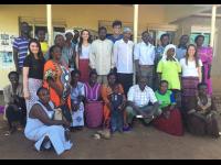 SRT Uganda Team and Village Health Team