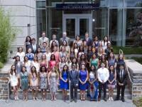 Global health majors Class of 2016