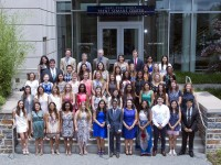 Global health majors Class of 2016
