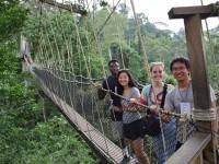 Duke SRT Team Canopy Walk at Kakum National Park