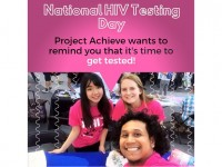 Project Achieve NYC National HIV Testing Day Event