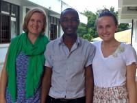 Melissa Watt, James Ngocho, and Olivia Fletcher