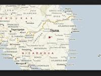 Siuna, Nicaragua map