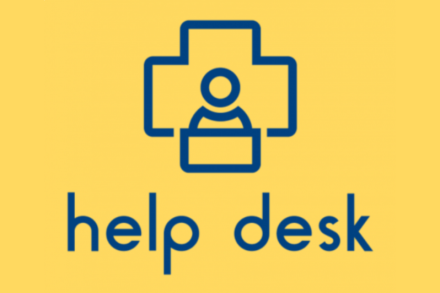 Help Desk - yellow logo