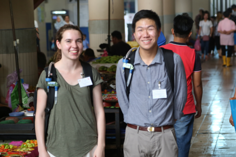 Bass Connections students in Malaysia
