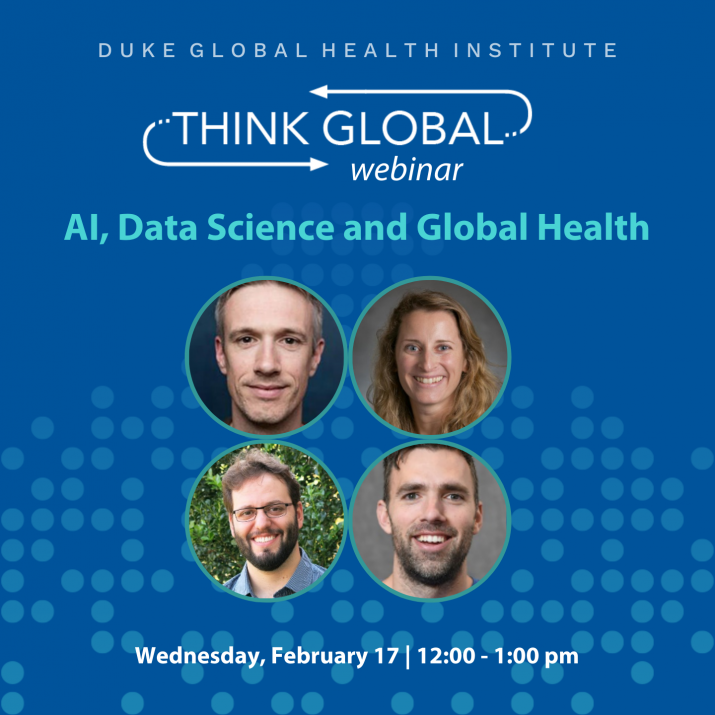 AI, Data Science and Global Health