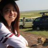 Yihuan Lai MS'20 visited Maasai Mara National Reserve, one of the adventures she took when she wasn't conducting mental health research in Kenya last summer.